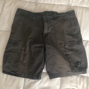 Faded Gray Nike cargo shorts